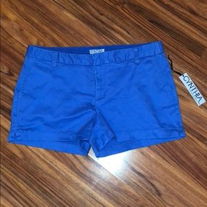NWT bright blue shorts